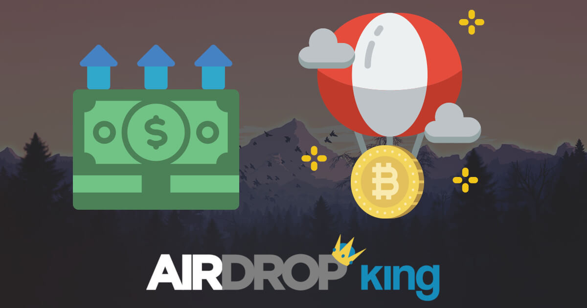 Airdrop King – Free Crypto Airdrops up to $100 | December 2019